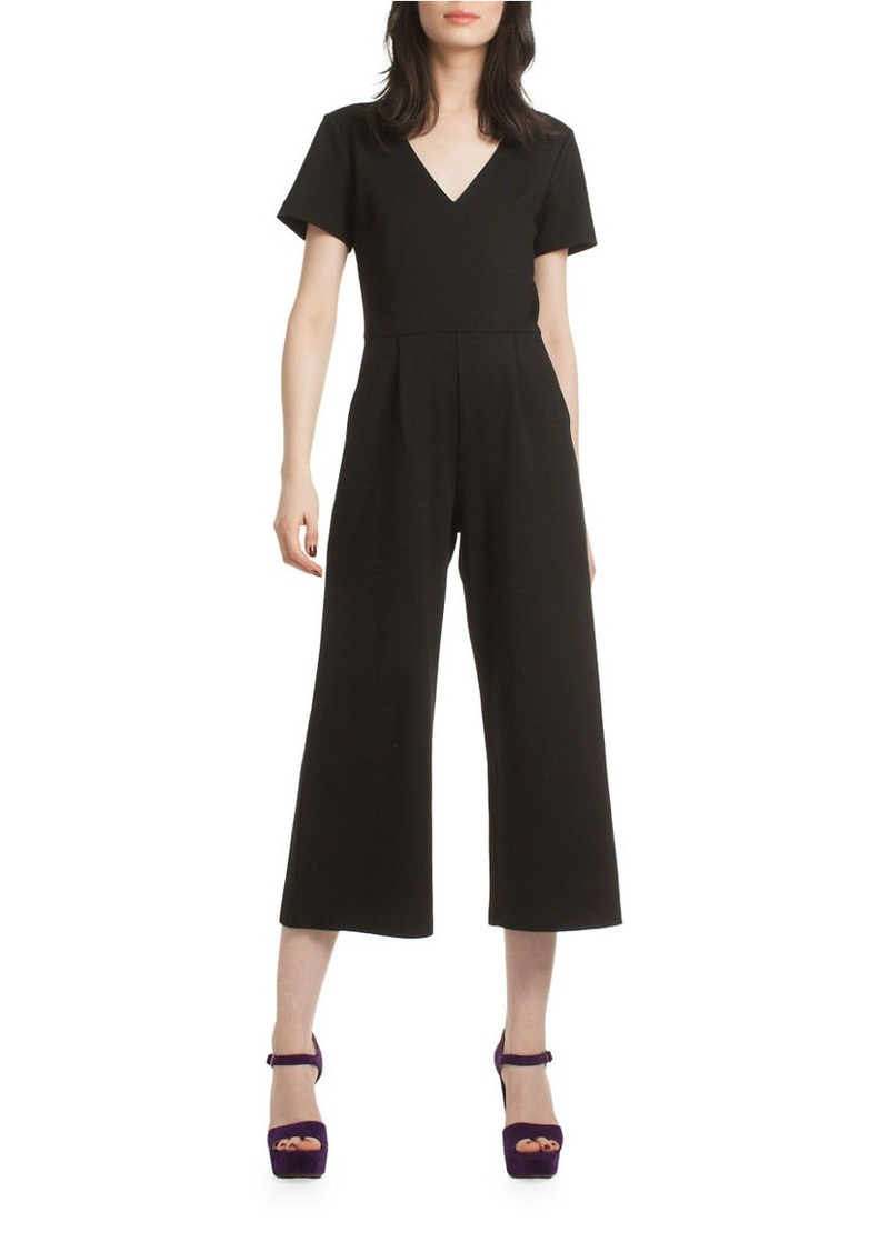 TRINA TURK Oppurtune Short Sleeve Jumpsuit