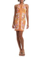Trina Turk Paisley Sheath Dress