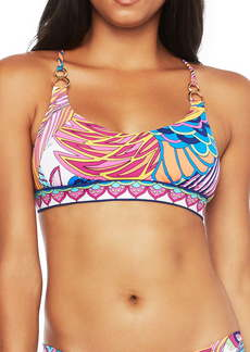 Trina Turk Paradise Bralette Bikini Top