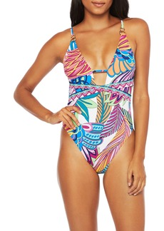 Trina Turk Paradise One-Piece Swimsuit