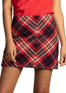 Trina Turk Pass the Wine Plaid Skirt