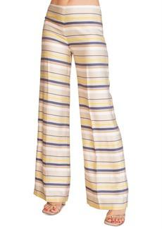 Trina Turk Penelope Striped Wide-Leg Pants