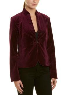 Trina Turk Peony Velvet Jacket