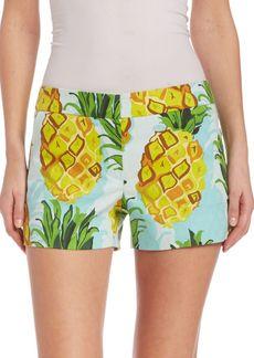Trina Turk Pineapple Corbin Shorts