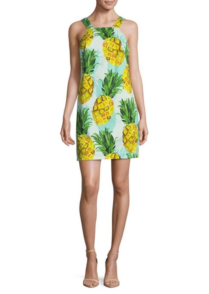 Trina Turk Pineapple Sheath Dress