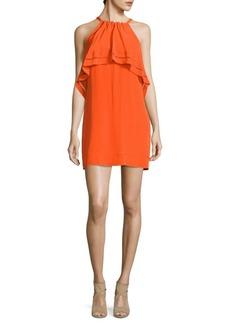 Trina Turk Popover Silk Dress