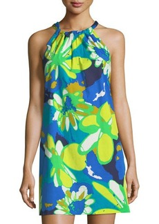 Trina Turk Rancho Floral-Print Shift Dress