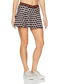 Trina Turk Recreation Women's Chevron Tennis Skirt  XL