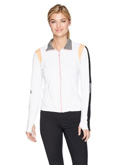 Trina Turk Recreation Women's Color Blocked Jacket  S