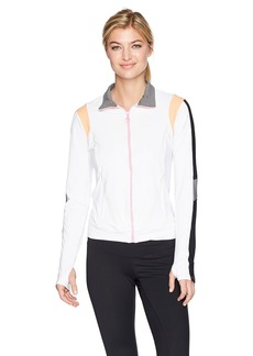 Trina Turk Recreation Women's Color Blocked Jacket  S