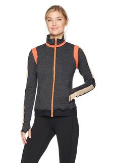 Trina Turk Recreation Women's Color Blocked Moss Jacket  L