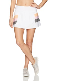 Trina Turk Recreation Women's Color Blocked Tennis Skirt  L