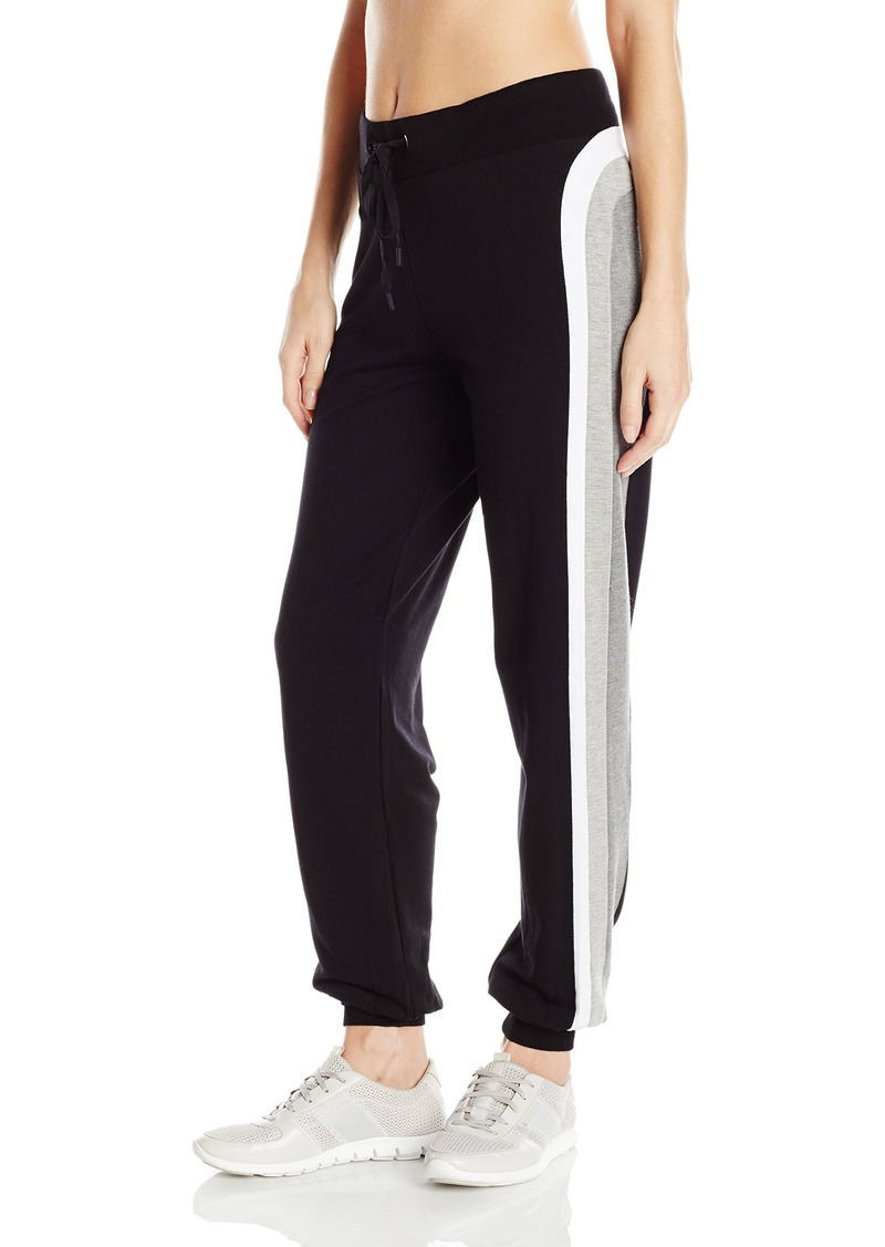 Trina Turk Recreation Women's Grey Scale Track Set Jogger Pant  S
