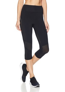 Trina Turk Recreation Women's Hybrid Active Capri Leggings Black