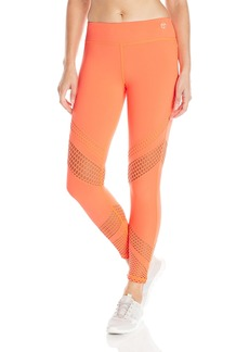 Trina Turk Recreation Women's Laser Cut Solid Full-Length Legging  edium