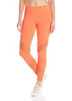 Trina Turk Recreation Women's Laser Cut Solid Full-Length Legging  X-Large