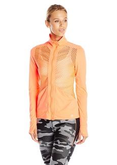 Trina Turk Recreation Women's Laser Cut Solid Jacket