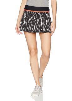 Trina Turk Recreation Women's Leopard Luxe Jacquard Tennis Skirt  M