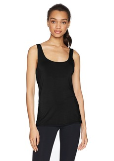 Trina Turk Recreation Women's Sleeveless Solid Open Back Tank Top