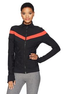 Trina Turk Recreation Women's Swirl Jacquard Jacket  L