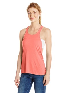 Trina Turk Recreation Women's Washy Jersey Solid Athletic Back Tank Top  M