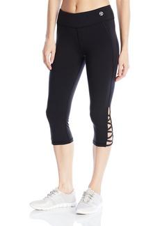 Trina Turk Recreation Women's Zig Zag Strapped Solid id-Length Legging  edium