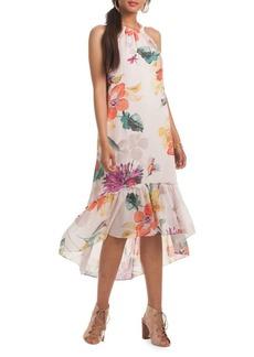 Trina Turk Rosales Halter Shift Dress