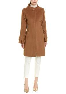 Trina Turk Sarah Wool-Blend Coat