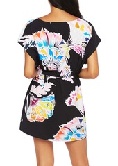 Trina Turk Seychelles Floral Cover-Up Tunic