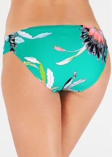 Trina Turk Shangri La Floral Shirred Side Hipster Bottoms Women's Swimsuit