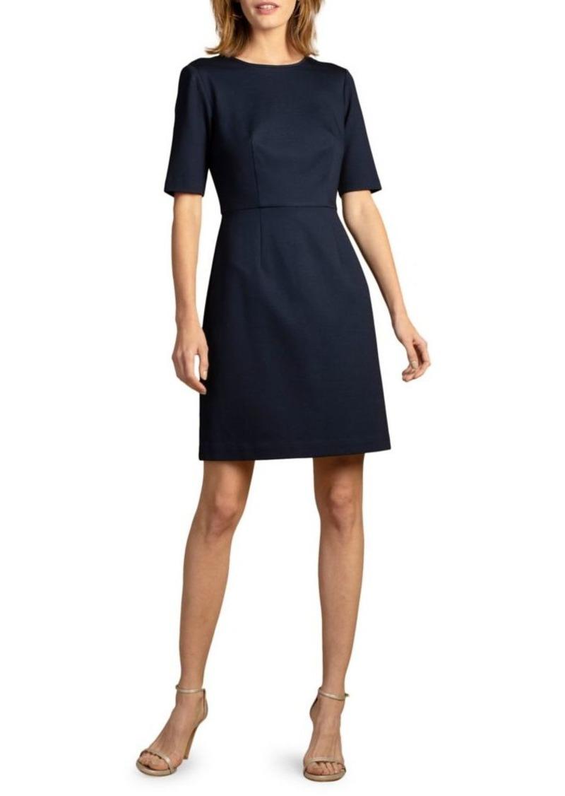 Trina Turk Short Sleeve A-Line Dress
