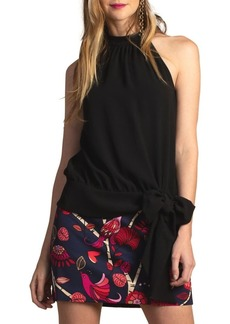 Trina Turk Silky Crepe Cocktail Top