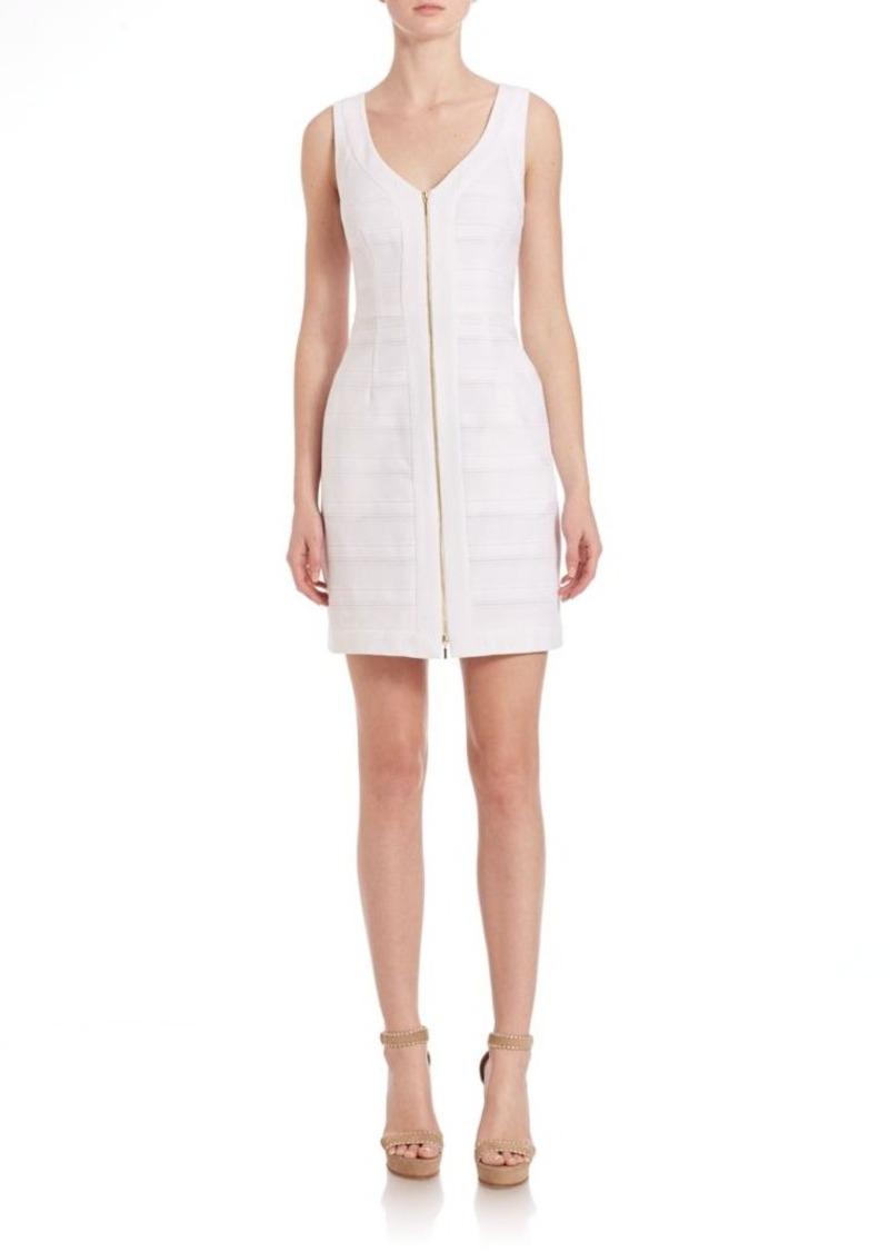 Trina Turk Sleeveless Zip-Up Woven Dress