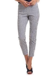 Trina Turk Slim-Fit Striped Skinny Pants
