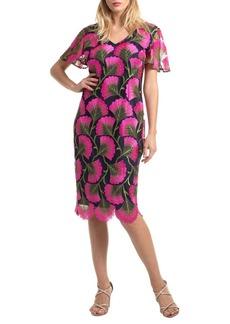 Trina Turk Stahl Embroidered Dress