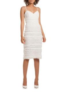 Trina Turk Stow Fringed Lace Dress