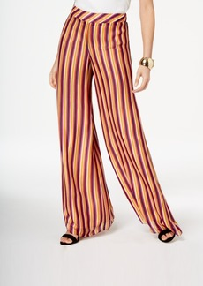 Trina Turk Striped Wide-Leg Pants