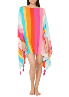 Trina Turk Sunrise Stripe Cover-Up Caftan