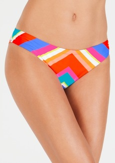 Trina Turk Sunset Chevron Basic Hipster Bottoms Women's Swimsuit
