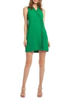 Trina Turk Tourist Relaxation Ruffle Sheath Dress