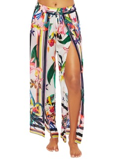 Trina Turk Treasure Cove Cover-Up Pants