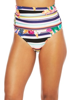 Trina Turk Treasure Cove High Waist Bikini Bottoms