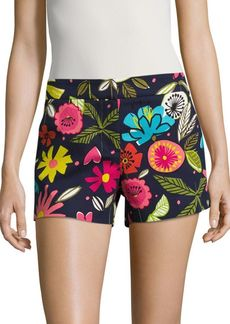 Trina Turk Tropical Print Shorts