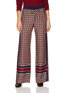 Trina Turk Women's Adonia Fairfax Floral Placed Print Rayon Pant  XS