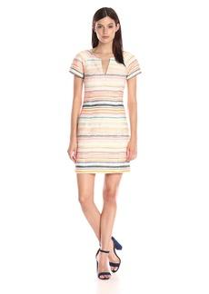 Trina Turk Women's Angela Sandscape Jacquard Dress