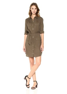 Trina Turk Women's Audrick Dobby Shirt Dress