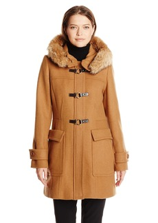 Trina Turk Women's Bailey Toggle Wool-Blend Coat
