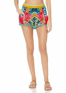 Trina Turk Women's Beach Cover Up Shorts  S