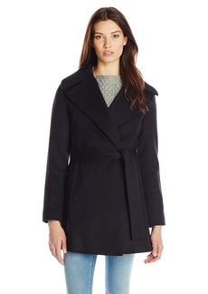 Trina Turk Women's Beverlee Wool Wrap Coat