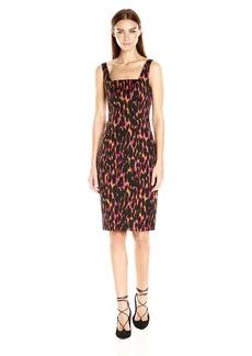 Trina Turk Women's Bewitching Leopard Luxe Faille Dress